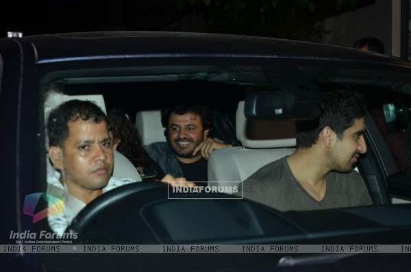 Vikas Bahl was snapped at the Special Screening of Bahubali