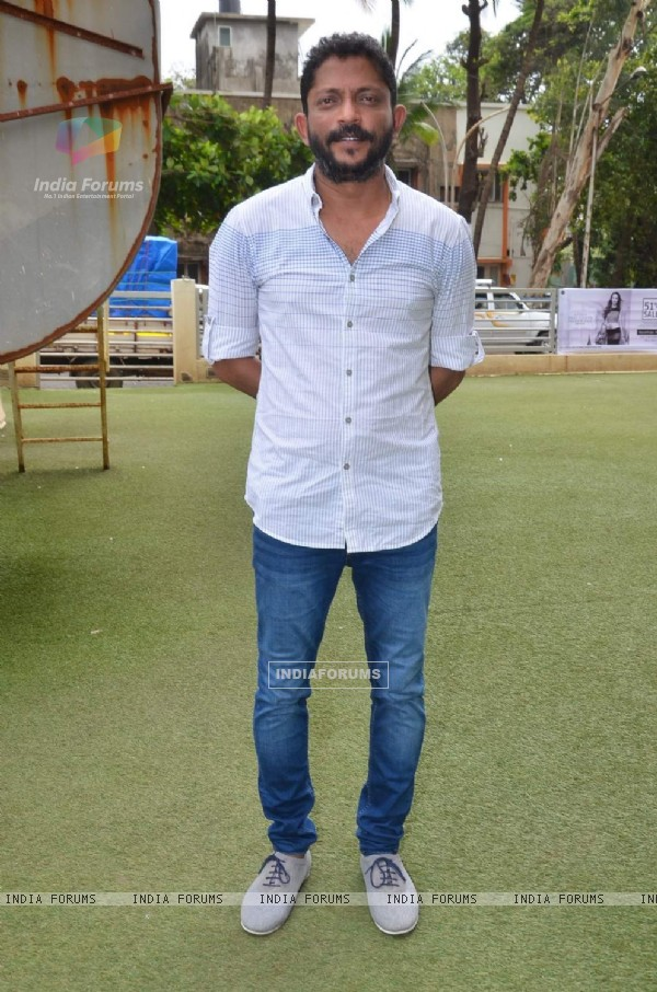 Nishikant Kamat at the Press Conference of Drishyam