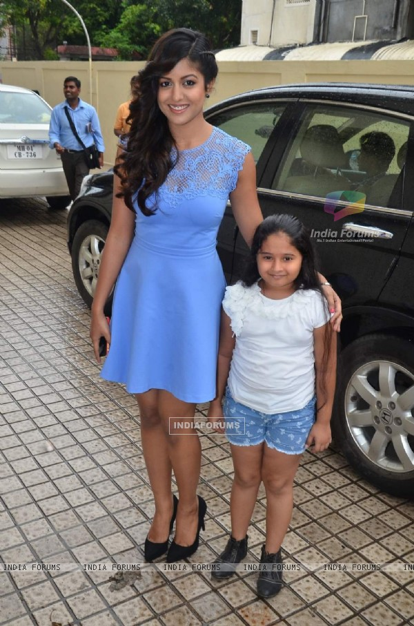 Ishita Dutta at the Press Conference of Drishyam
