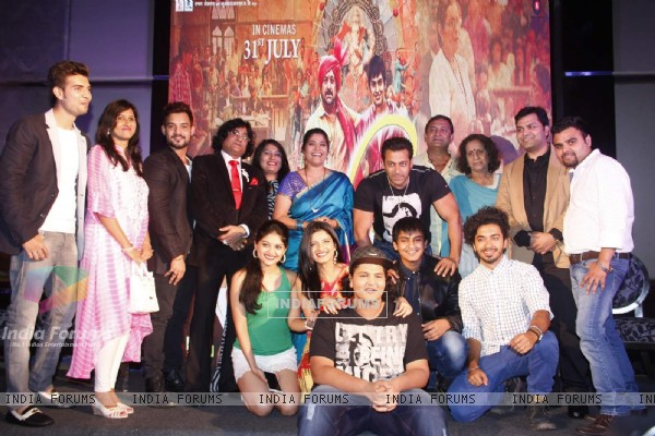 Salman Khan at Promotions of Marathi Movie 'Janiva'