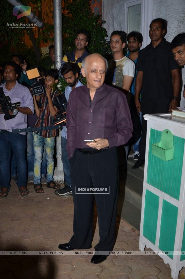 Mukesh Bhatt at Success Bash of ABCD 2
