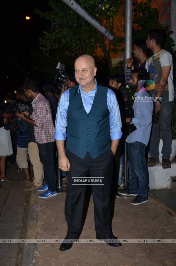 Anupam Kher at Success Bash of ABCD 2