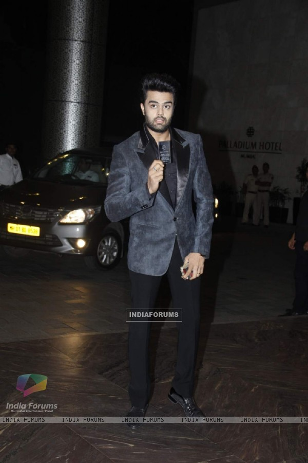 Manish Paul at Shahid - Mira Wedding Reception!