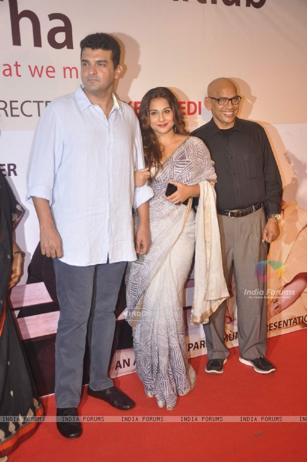 Siddharth Roy Kapur and Vidya Balan at Show of Kuch Bhi Ho Sakta Hai