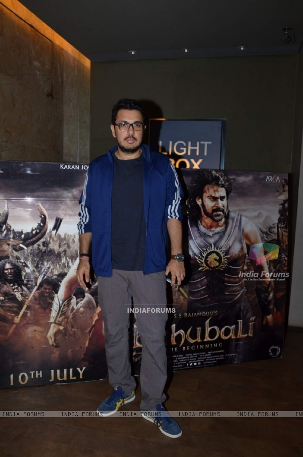 Dinesh Vijan at Screening of Bahubali
