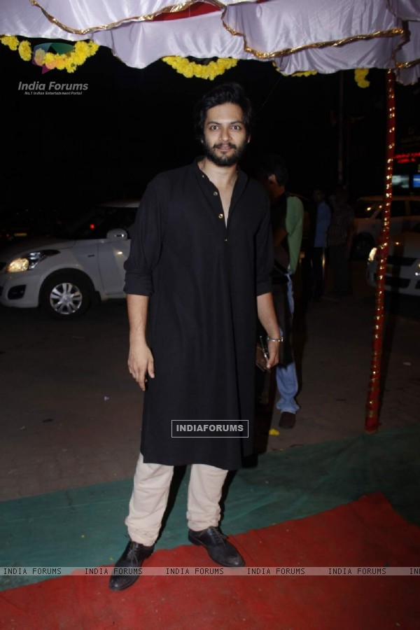 Ali Fazal at an Iftar Party Organised by an NGO