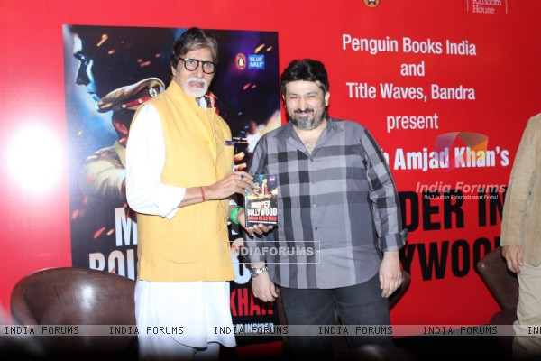 Amitabh Bachchan and Shadab Mehboob Khan Launches 'Murder in Bollywood'