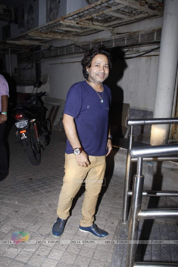 Kailash Kher Snapped at PVR