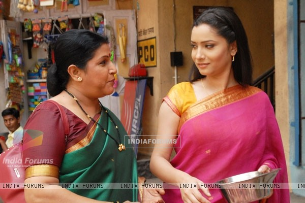 A still image of Sulochana and Archana
