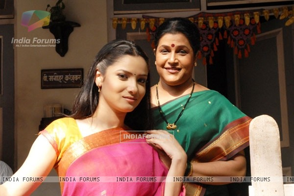 Sulochana with her favourate daughter Archana
