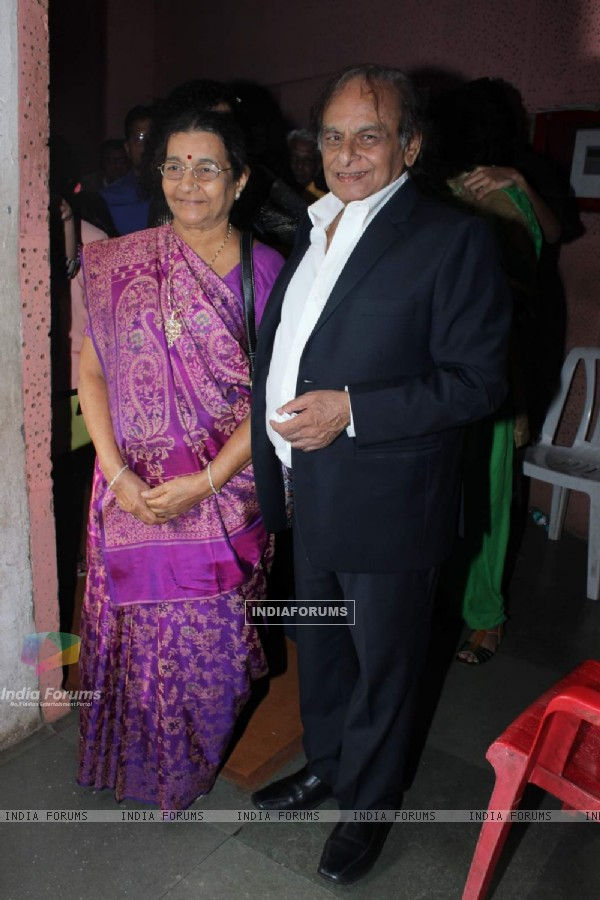 Kalyanji Virji Shah at Whistling Woods Convocation