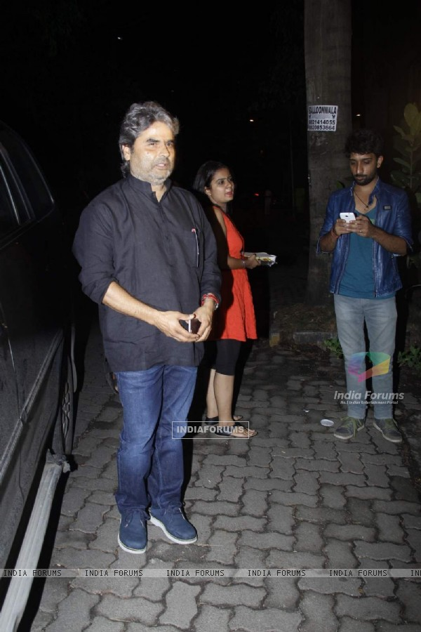 Vishal Bhardwaj at Priyanka Chopra's Birthday Bash!
