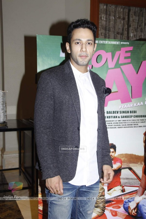 Sahil Anand at Launch of Film 'Love Day'
