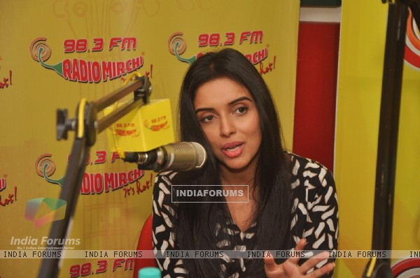 Asin Promotes All is Well on Radio Mirchi