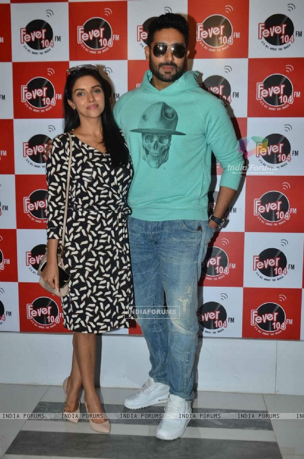 Asin and Abhishek Bachchan for Promotions of All is Well on Fever FM