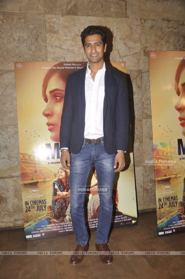 Vicky Kaushal at Special Screening of Masaan