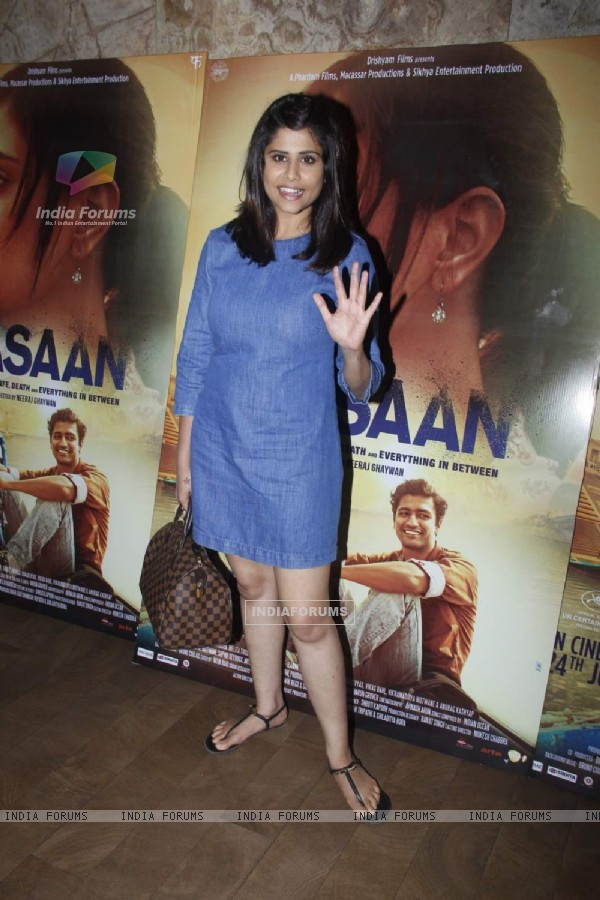 Sai Tamhankar at Special Screening of Masaan