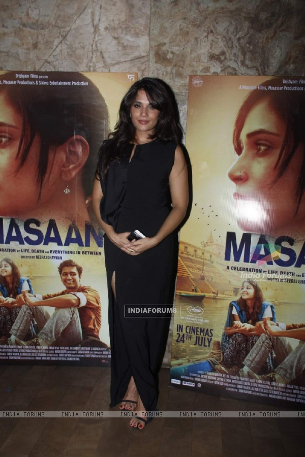 Richa Chadda at Special Screening of Masaan