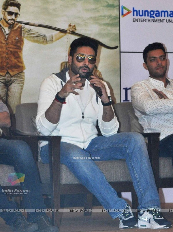 Abhishek Bachchan for Promotions of All is Well at Kolkata