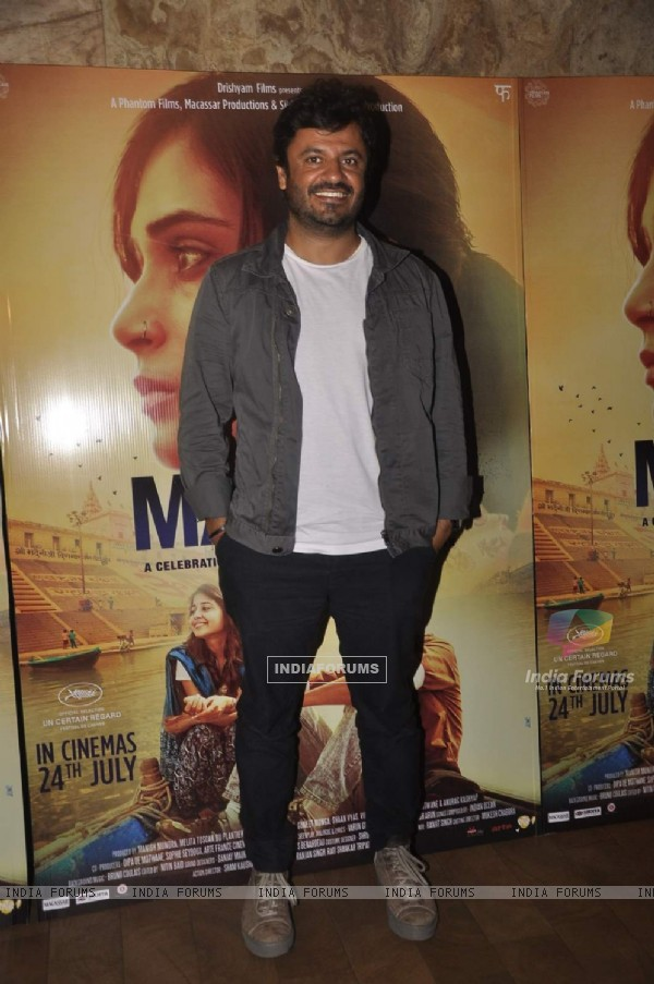 Vikas Bahl at Special Screening of Masaan