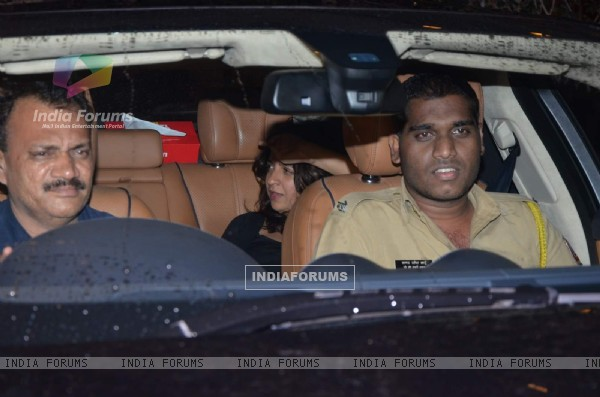 Zoya Akhtar at Shahid Kapoor's Bash