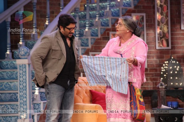 Arshad Warsi Hosts Comedy Nights With Kapil