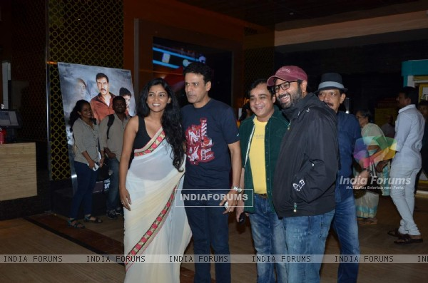 Premiere of Marathi Movie 'Manatlya Unhat'