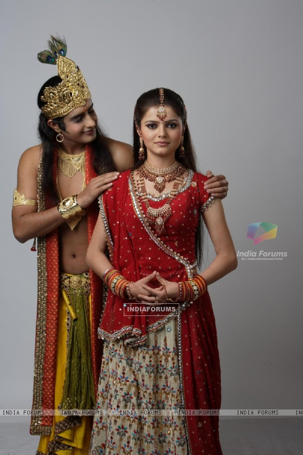 Radhika with Krishna