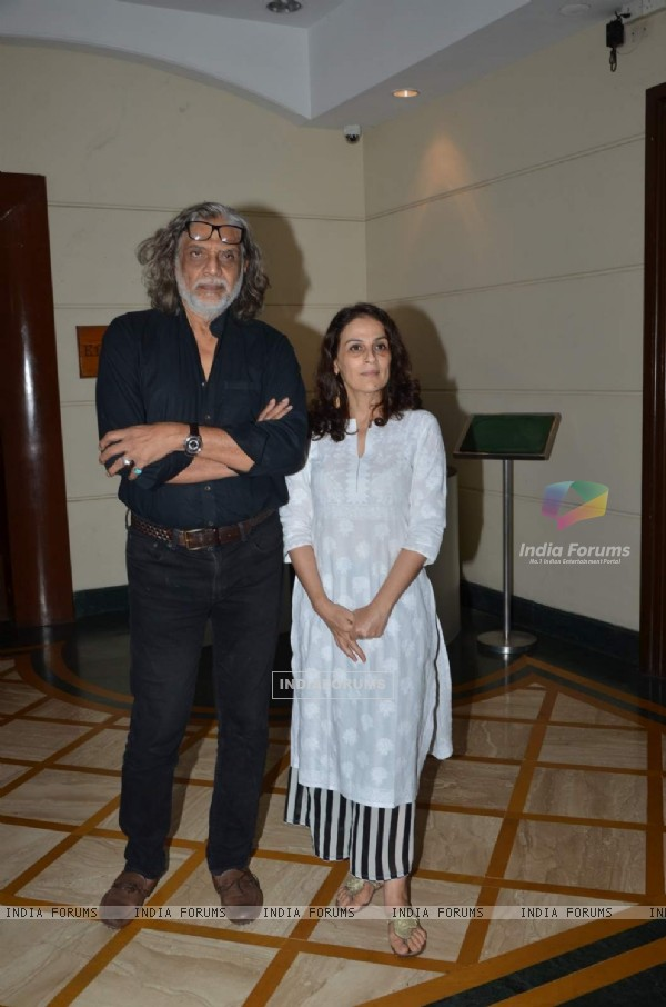 Muzaffar Ali at Press Meet of Jaanisaar