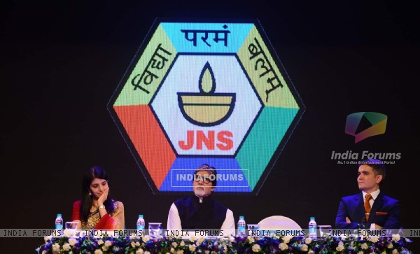 Big B Inaugurates Jamnabai Narsee International School