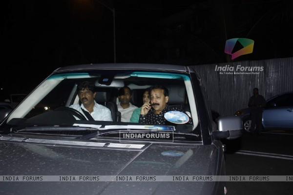 Baba Siddiqui at Arpita Khan's Birthday Bash