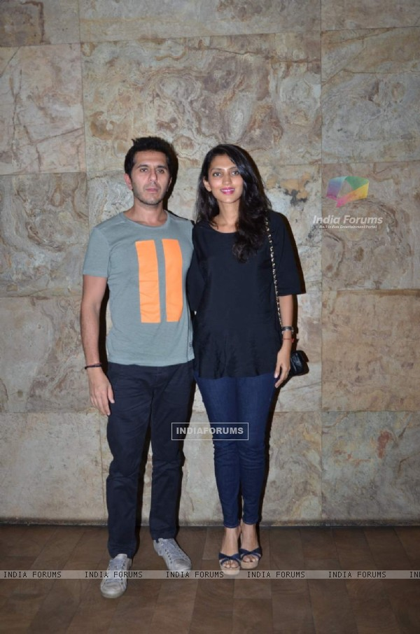 Ritesh and Dolly Sidhwani at Special Screening of Bangistan