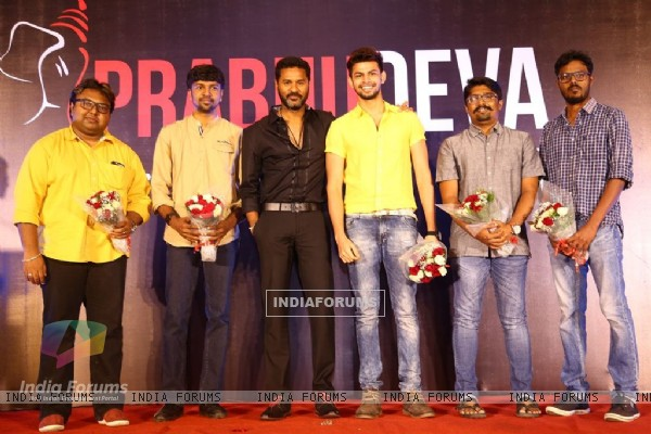 Launch of 'Prabhu Deva Studios'