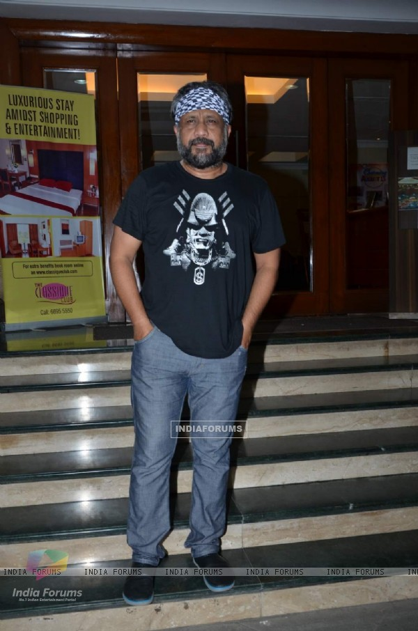 Anubhav Sinha at Manish Paul's Birthday Bash