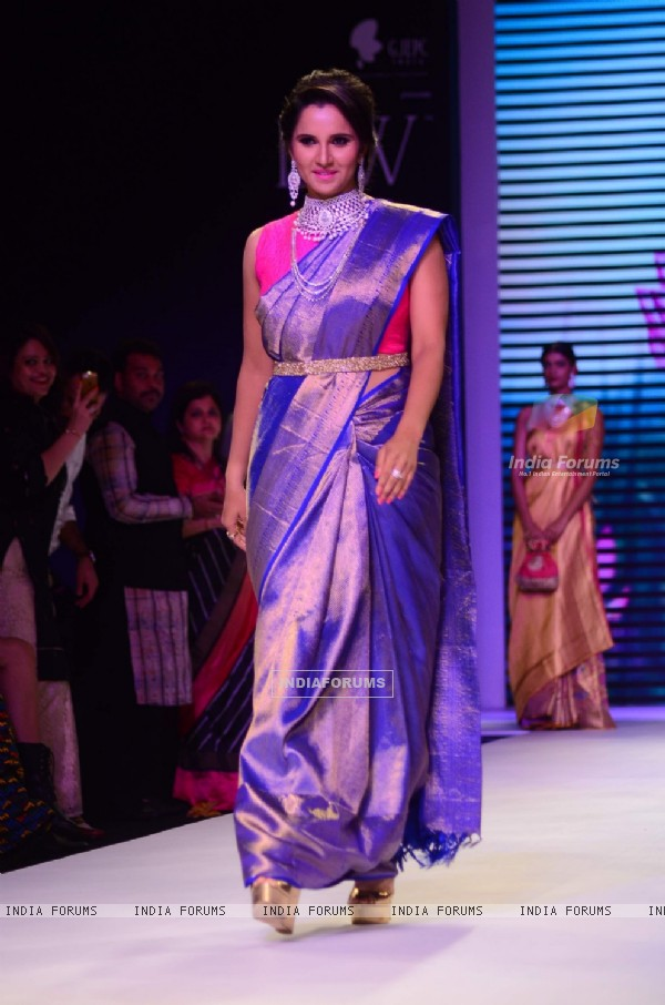 Sania Mirza at IIJW 2015