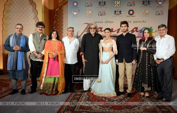 Jaanisaar Team at Music Launch in Delhi