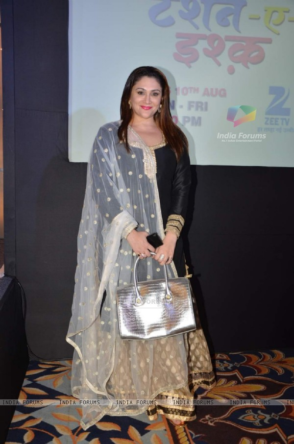 Eva Grover at Launch of Zee TV's New Show 'Tashan-e-Ishq'