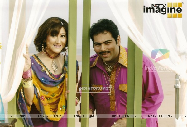 A still image of Dolly and Bhupinder