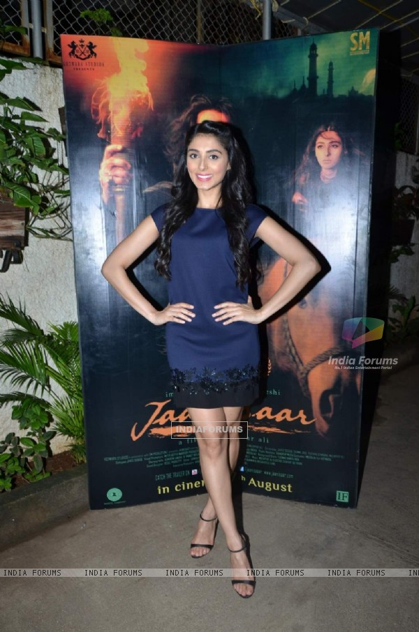 Pernia Qureshi at Screening of Jaanisaar