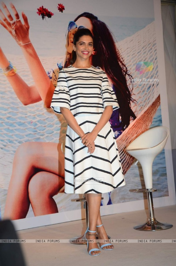 Deepika Padukone at Launch of Capsule Collection by Vogue