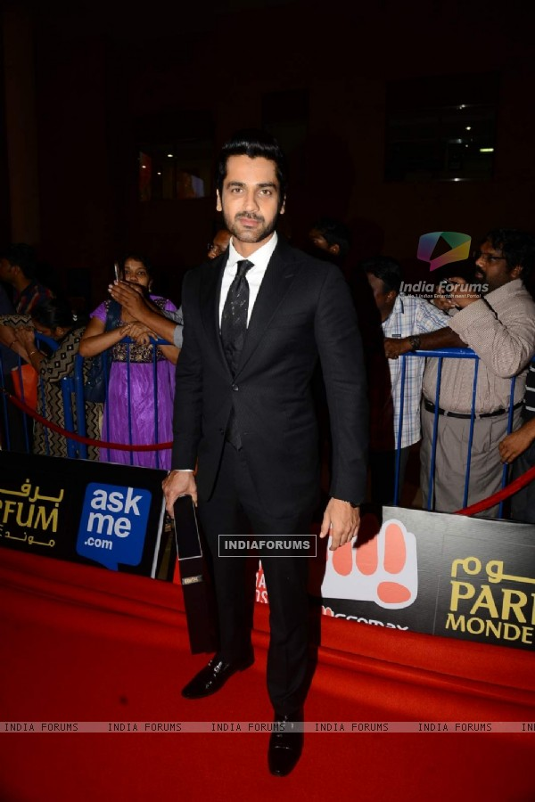Arjan Bajwa at SIIMA 2015 Day 3