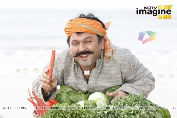 Ali Asgar as vegetable seller