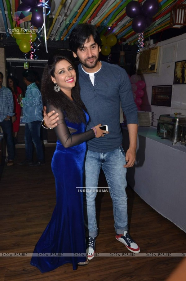 Shashank Vyas at Pratyusha Banerjee's Birthday Bash