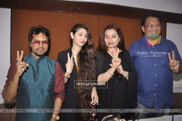 Salma Agha Press Meet With Daughter Sasha Agha