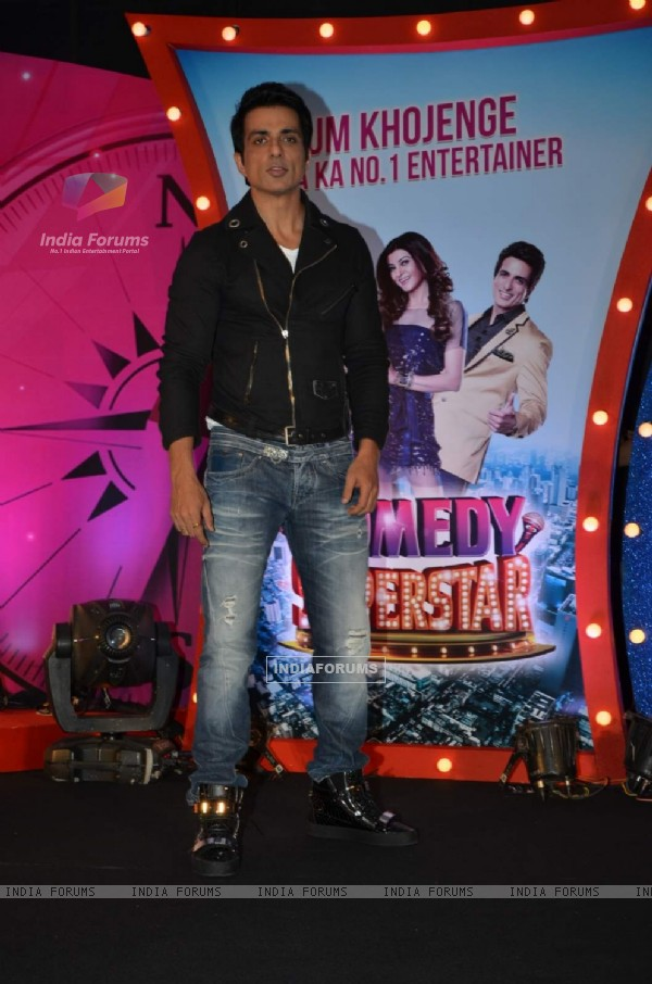 Sonu Sood at Launch of SAB TV's New Show Comedy Superstars