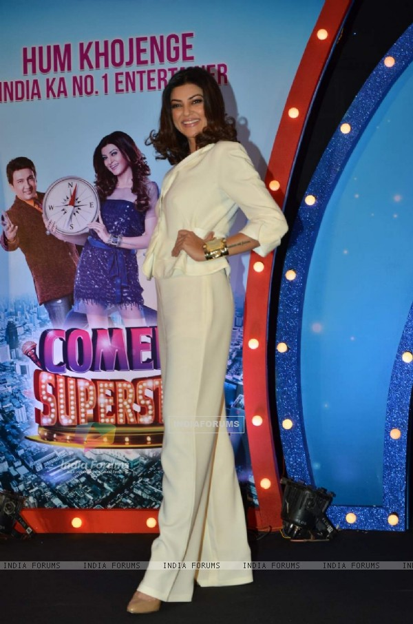 Sushmita Sen at Launch of SAB TV's New Show Comedy Superstars