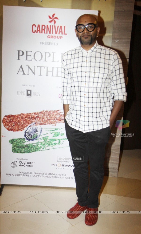 Benny Dayal at Carnival Group's People's Anthem Launch