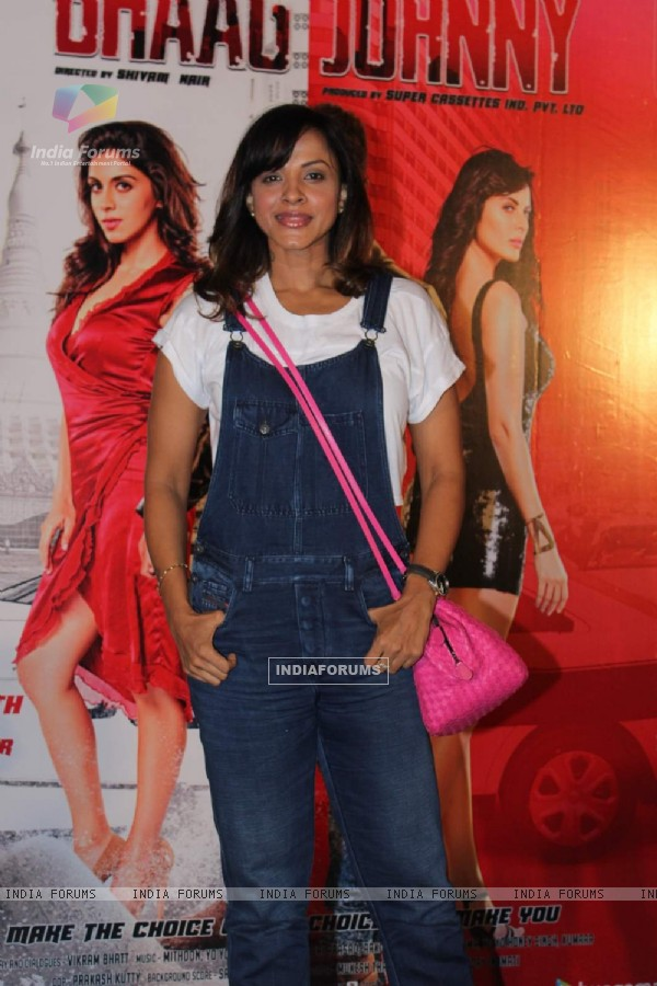 Manasi Scott poses for the media at the Trailer Launch of Bhaag Johnny