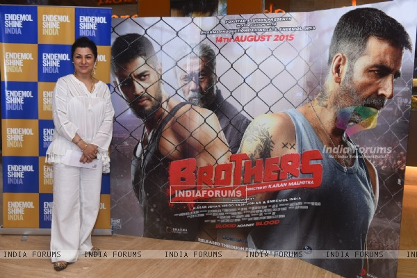 Hard Kaur at Special Screening of Brothers