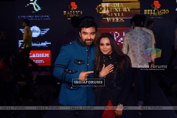 Ajaz Khan at India Luxury Style Week 2015